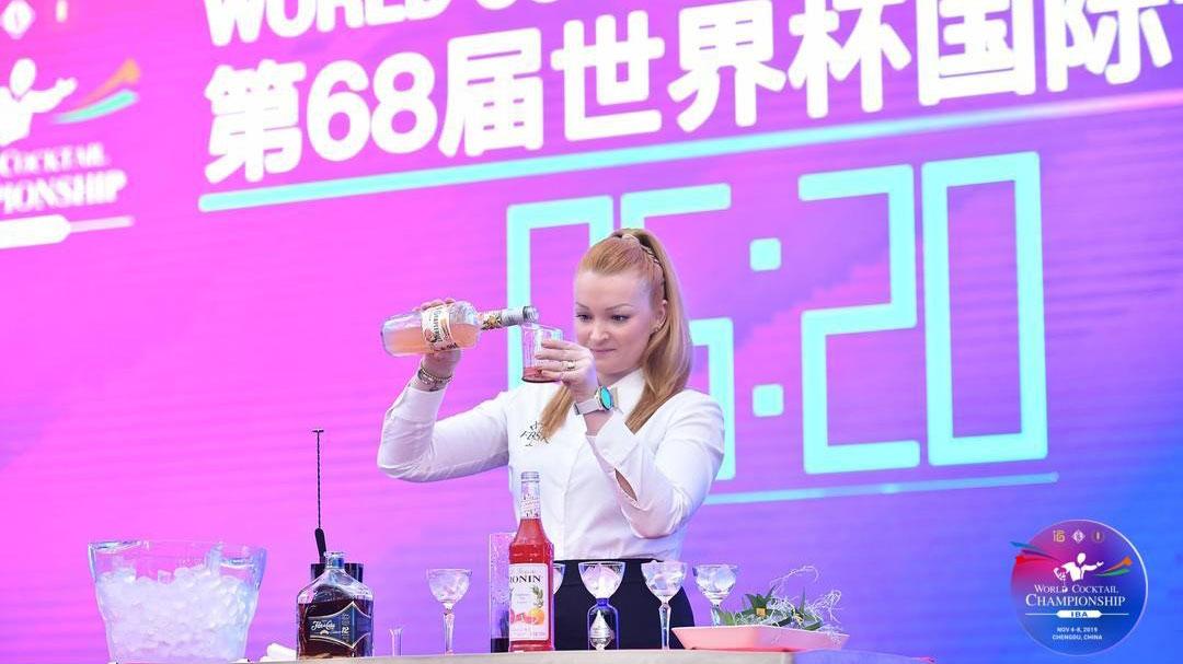 Alina Laaksonen, drinkkikilpailun maailmanmestaruus